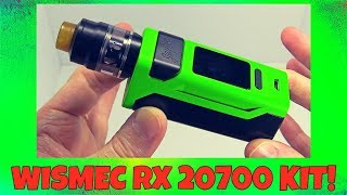 The Wismec RX2 20700 Mod Vape Kit!