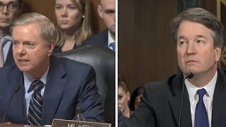 "Sen. Lindsey Graham tells Kavanaugh: ""This is the most unethical sham"""