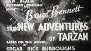 New Adventures of Tarzan (1935) - full movie