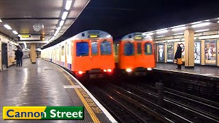London Underground : Cannon Street | Circle - District lines ( S7 - D78 Stock )