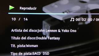 SACD DSD Stereo Double Fantasy - Woman