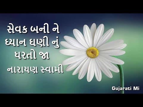 Sevak Bani Ne Dhyan Dhani Nu Dharto Ja Narayan Swami Bhajan - GujaratiMi
