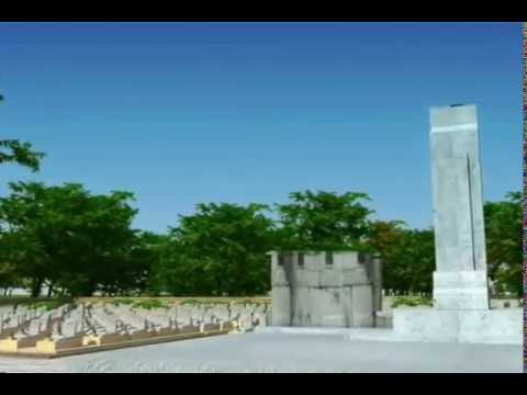 Nghĩa trang liệt sĩ Quốc gia Trường Sơn 3D