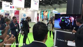 Panasonic at CABSAT 2019