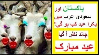 pakistan aur saudi arab Main Bari eid Kab Ho gi | Eid Mubarak | Kya Ap Jante Hein ?