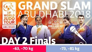 Judo Grand-Slam Abu Dhabi 2018: Day 2 - Final Block