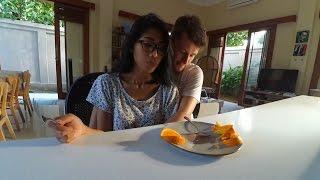 Sort  VACATION''nginap di rumah temen''# The best kebab di bali#Masak soup Borsh Vlog 31