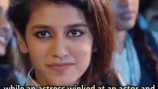 Is Priya Varrier an Indian? Priya Winks at Classmate