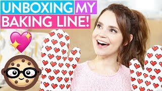UNBOXING MY BAKING LINE!