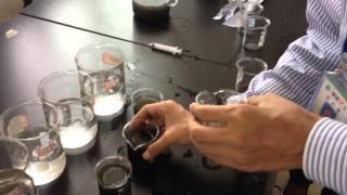 polyacrylamide Selection test for wastewater treatment