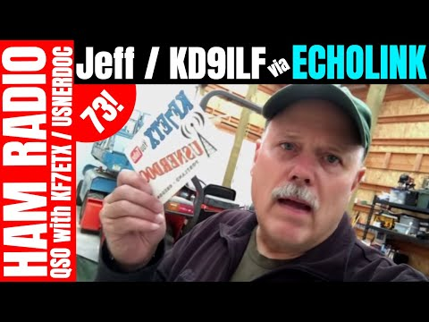 Using Echolink on iPhone  - Talking With Jeff / KD9ILF