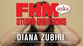 FHM Asks Diana Zubiri Stupid Questions
