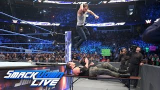 Dean Ambrose vs. Baron Corbin — Street Fight: SmackDown LIVE, April 4, 2017