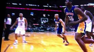 Ron Artest Hits A Front Row Fan And Smashes A Coffee In His Face!!