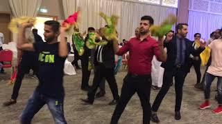 رقص سه پا دسمالی خودمونی بستکی خواننده جلال افروغ کیبورد محمد غفوری  بیدشهر کاریان