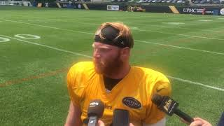 Steelers LB Tyler Matakevich talks starting in OTAs