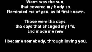 Anthony Hamilton - Dear Life Lyrics