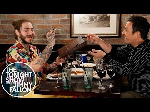 Xxx Mp4 Post Malone Takes Jimmy Fallon To Olive Garden 3gp Sex