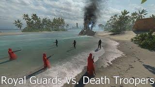 ROYAL GUARDS VS. DEATH TROOPERS 3 Vs. 3 - Star Wars Battlefront
