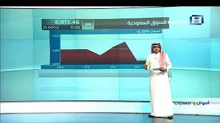 أموال و مسارات - إغلاق السوق السعودي 1439/3/1