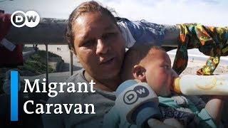 Caravan update: Thousands of migrants reach US border at Tijuana | DW News