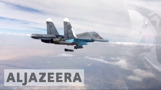 Syria's civil war: Russia's bombing campaign one year on
