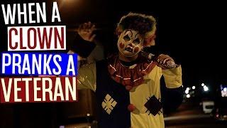 When A Clown Pranks A Veteran!
