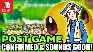 NEW Post Game Confirmed & It Sounds Great for Pokemon Let