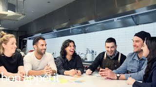 50 Minutes of Claire, Brad, Chris, Carla, Molly and Andy Talking Pizza | Making Perfect: Bonus