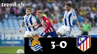Real Sociedad vs Atl. Madrid 3-0 Highlights & Goals