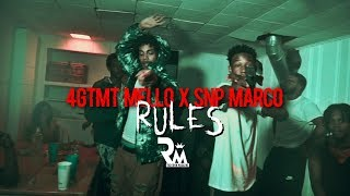 4GTMT Mello x SNP Marco - Rules (Official Video) Directed By Richtown Magazine