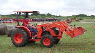 Demo Video of Used Kubota MX5200 Tractor with Loader, Canopy