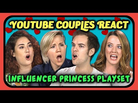 YOUTUBERS REACT TO YOUTUBER PRINCESS PLAYSET TOY