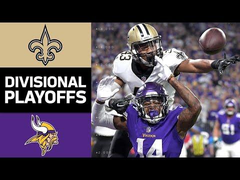 Xxx Mp4 Saints Vs Vikings NFL Divisional Round Game Highlights 3gp Sex