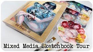 Surreal Art Sketchbook Tour!