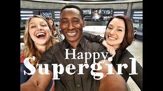 SUPERGIRL CAST    HAPPY [BTS]