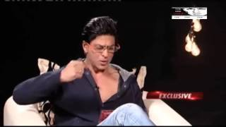 SHAHRUKH KHAN  INTERVIEWS SALMAN KHAN.