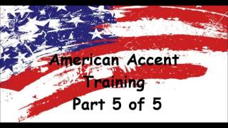 American Accent Training -Free Online Course- Part 5 of 5
