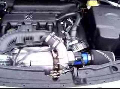 Peugeot 207 GT Induction kit