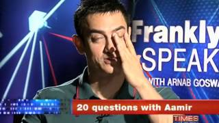 Frankly Speaking With Aamir Khan (Part 1 of 2)