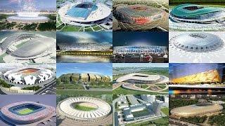 2018 সালের FIFA বিশ্বকাপের স্টেডিয়াম সমূহ ( রাশিয়া ) || Freaky News