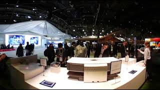 Sony Booth at CES 2018 (360 video)