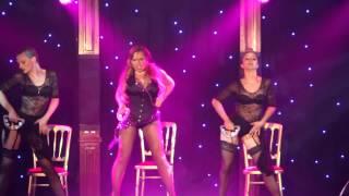 Veronica Blacklace Cabaret Boheme with the amazing Cabaret Rouge ladies