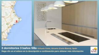 3 dormitorios 3 baños Villa se Vende en Orihuela Costa, Alicante (Costa Blanca), Spain