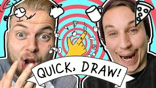 WHO'S THE BETTER ARTIST?! - Quick Draw! W/AshDubh