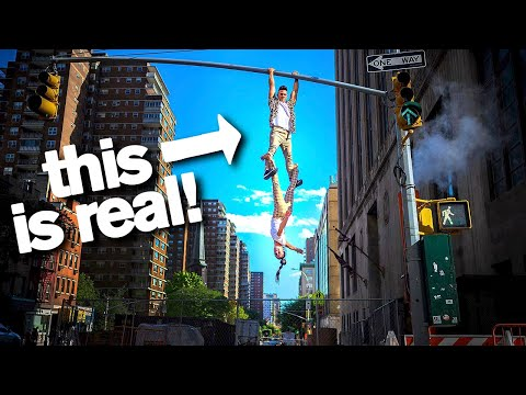 Daredevil Acrobats Will Hang Off Anything don t try these stunts