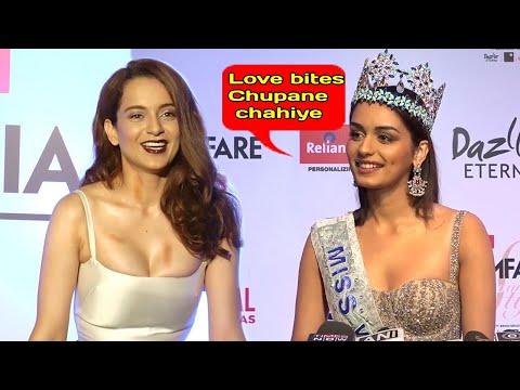 Xxx Mp4 Kangana Ranaut S BEST Reply To Manushi Chillar For Winning Miss World 2017 3gp Sex