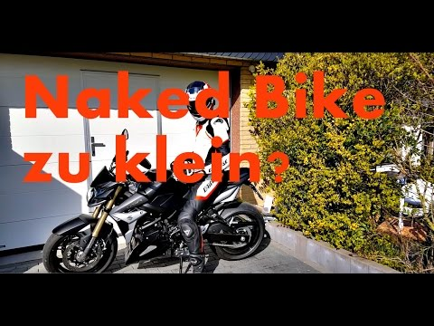 Zuschauerfrage: Mit 1,90 Meter zu groß fürs Naked Bike? - MotoVlog #39