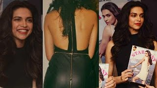 Deepika Padukone Goes Backless At Stardust Launch