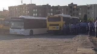 Iran, Machad, les chauffeurs de bus en grève pour réclamer un an de salaires impayés